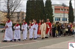 Procession - Palm Sunday