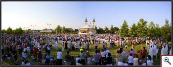 June 24. 2008. Evening mass.